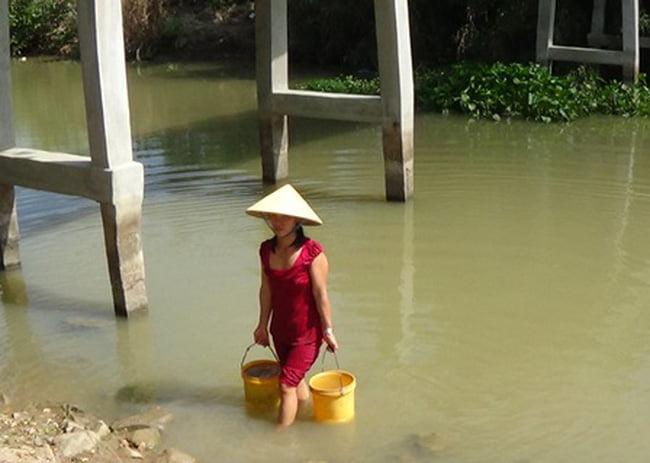 10.000 dân Bình Thuận có nguy cơ thiếu nước sinh hoạt
