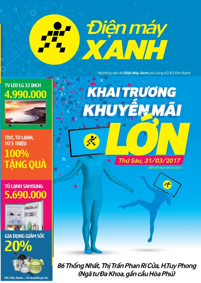 Điện máy xnah Phan Rí Cửa