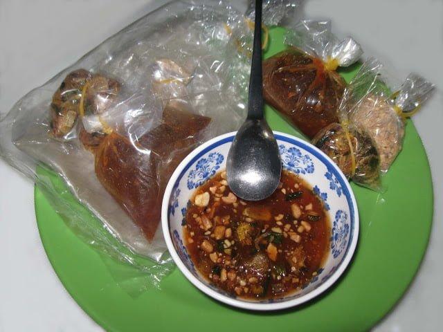Bánh tráng me Tây Ninh ở Bình Thuận