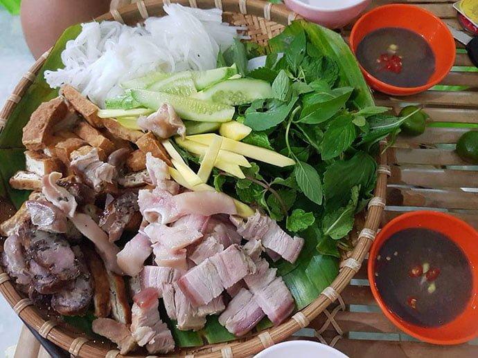 Bún đậu Phan Rí