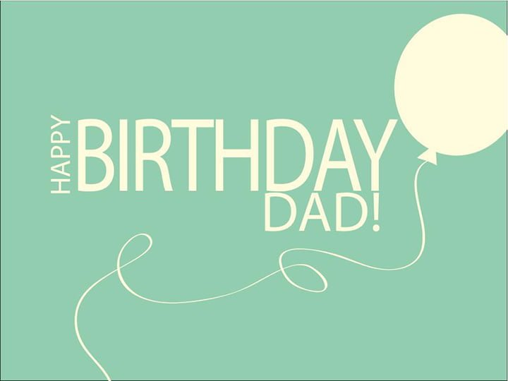 Lời chúc sinh nhật cha