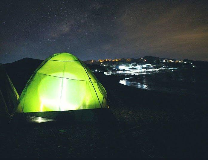 Cắm trại làng Cổ Thạch
