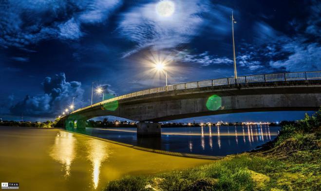 Cây cầu dài nhất Bình Thuận