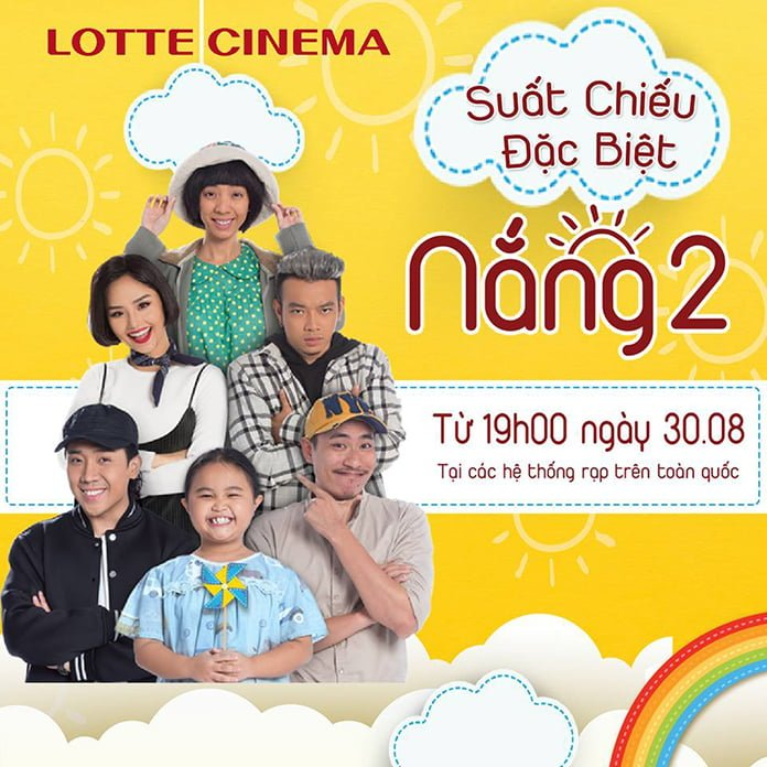 Phim Nắng 2 tại Lotte Cinema Phan Thiết