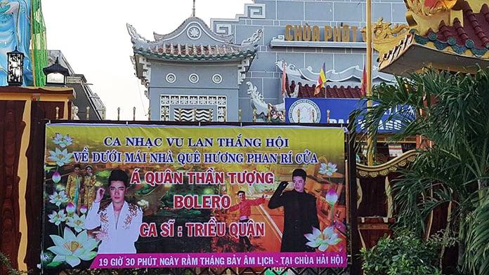 Đêm nhạc Điểm tựa đời con tại Phan Rí