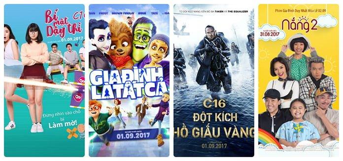 Lịch chiếu phim Lotte Cinema Phan Thiết Quốc khánh 2017