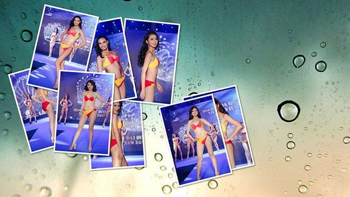 Vòng thi người đẹp bikini