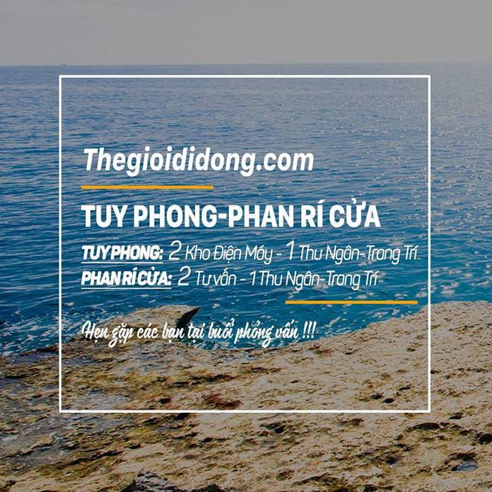 Thông tin tuyển dụng ở Tuy Phong