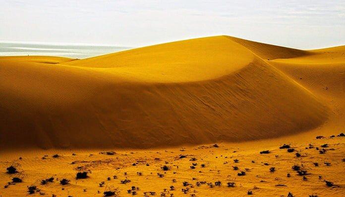 Đồi cát baymũi né