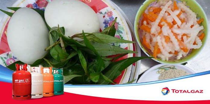 Vịt lộn rau chua Bình Thuận
