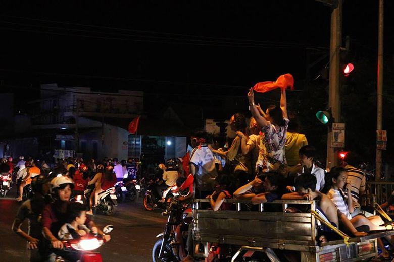 Bình Thuận Ăn mừng U23 Việt Nam