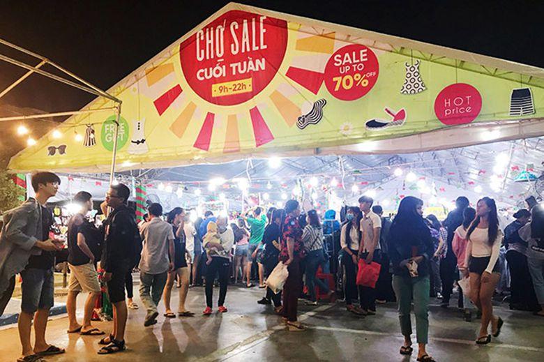 Chợ Sale Tết tại Phan Thiết