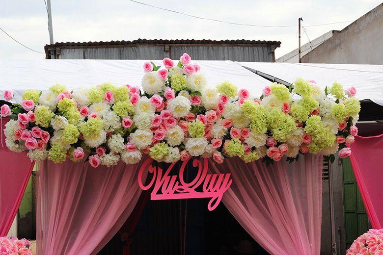Trang trí tiệc cưới và sự kiện Dung Nhân