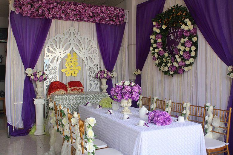 Dung Nhân, chuyên trang trí tiệc cưới, sự kiện