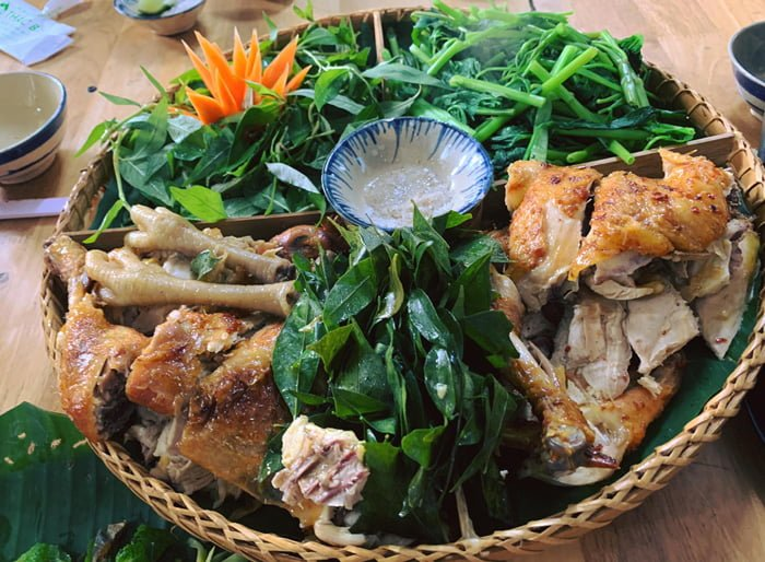 Gà nướng mắc mật ở huyện Tánh Linh