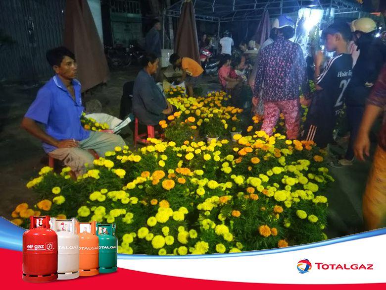 Chợ hoa xuân Phan Rí