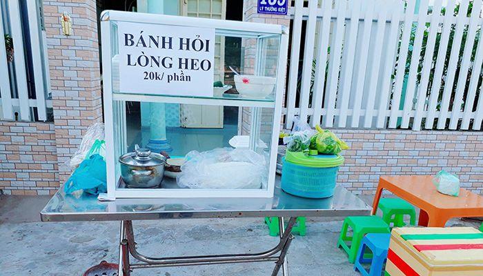 Bánh hỏi hot girl Phan Rí