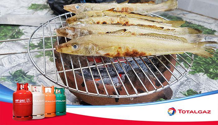 cá đục nướng