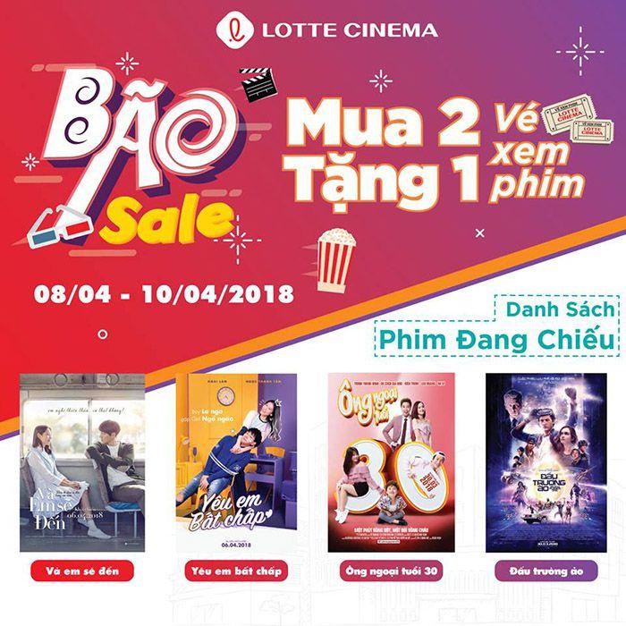 Bão sale Lotte Cinema Phan Thiết