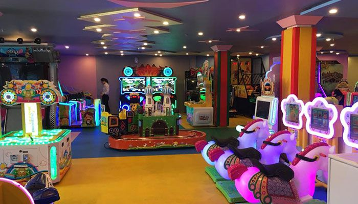 Cafe 3d tại Mũi Né Kids Center