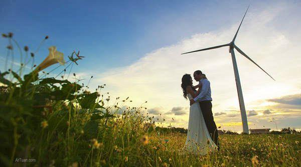 Quạt gió ở Phú Quý