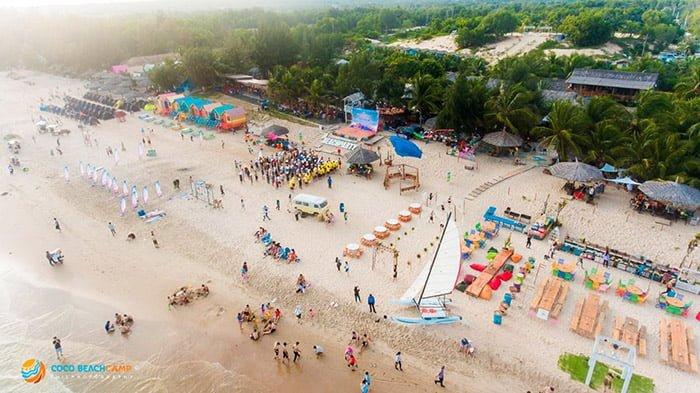 Coco Beachcamp rực rỡ đón nắng hè