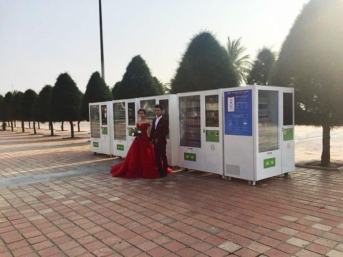 Máy bán hàng tự động ở Phan Thiết