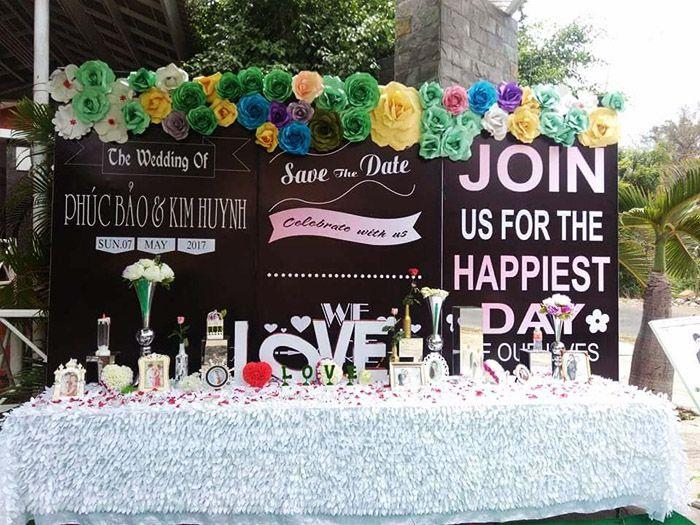 Dịch vụ quảng cáo, trang trí tiệc cưới, sự kiện Phúc Bảo