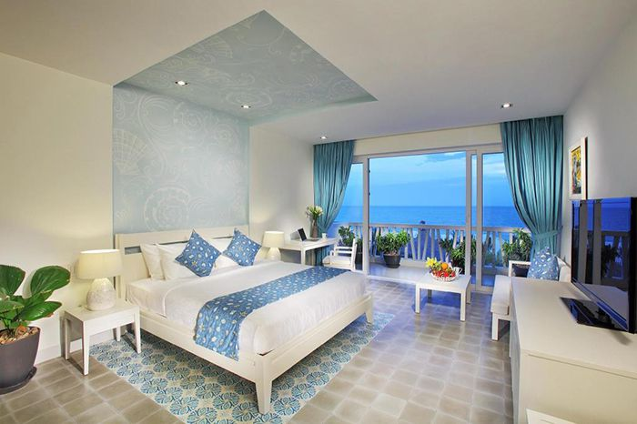 View biển tuyệt đẹp của resort