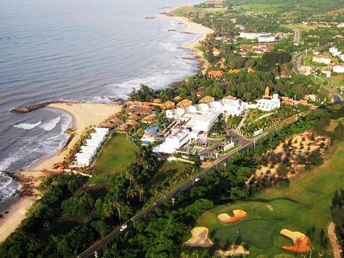 Cliff Resort & Residences nhìn từ trên cao