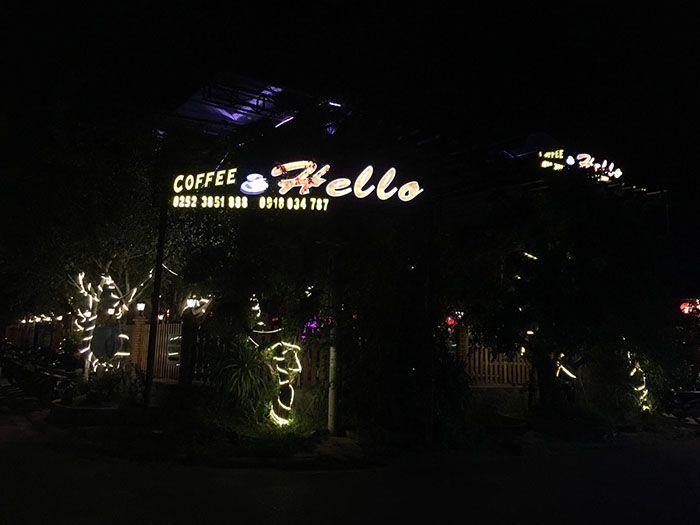 Cafe ở Liên Hương