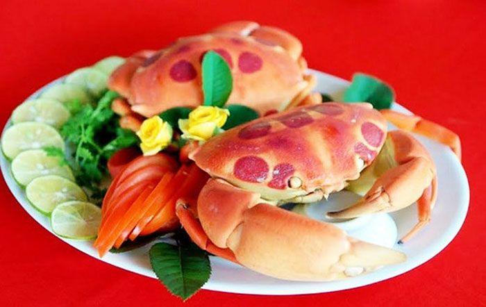 hải sản trên đảo Phú Quý