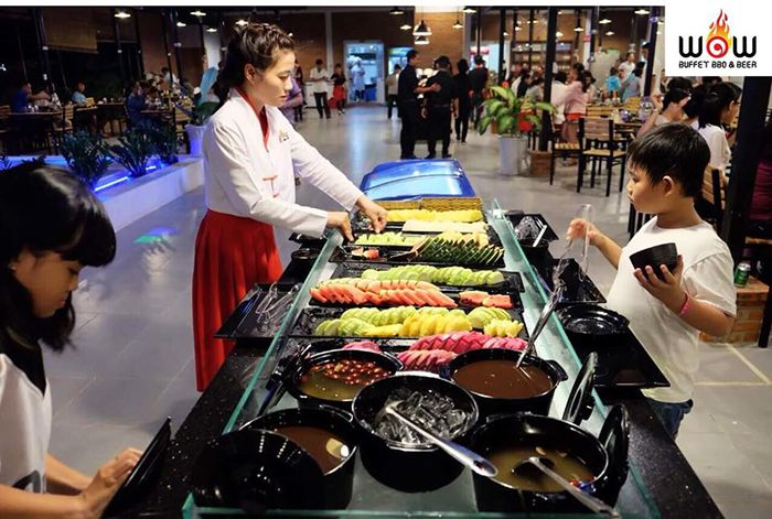 Wow Buffet ở Phan Thiết