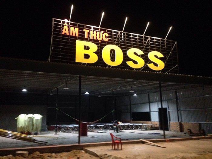 Ẩm thực Boss ở Phan Rí - Hòa Phú