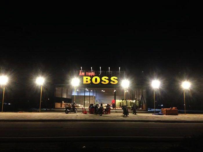 Ẩm thực Boss khuyến mãi