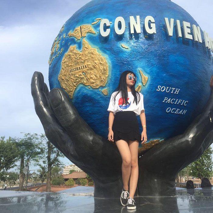 công viên hòa bình ở Phan Thiết