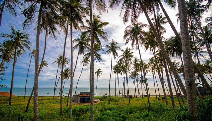 Bãi Rạng biển Bình Thuận