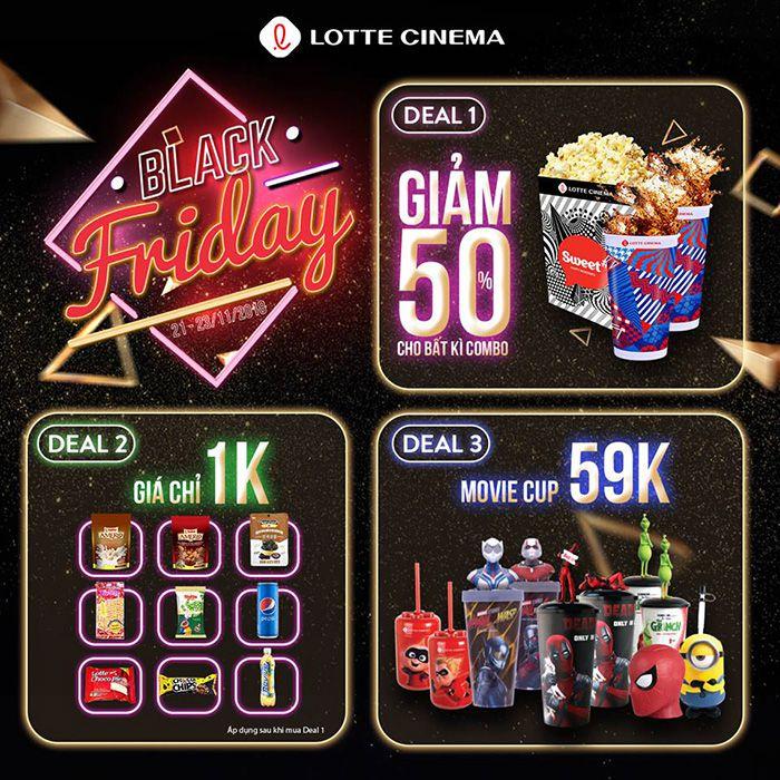 Lotte Cinema Phan Thiết khuyến mãi