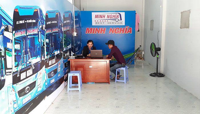 Phòng vé Ma lâm của nhà xe Minh Nghĩa