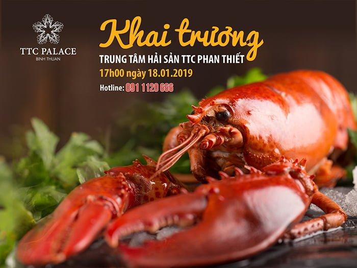 Trung tâm Hải sản TTC Phan Thiết