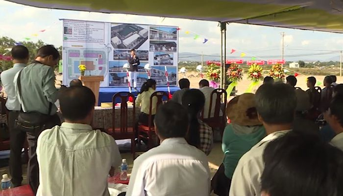 Lễ động thổ xây dựng chợ Chí Công