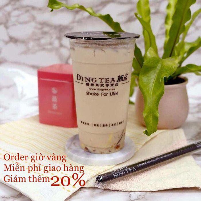 Ding Tea Phan Thiết khuyến mãi thứ 4 hàng tuần