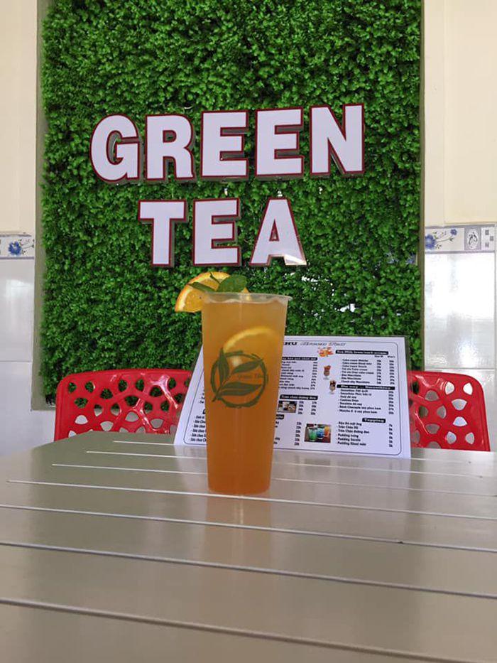 Trà sữa Green Tea