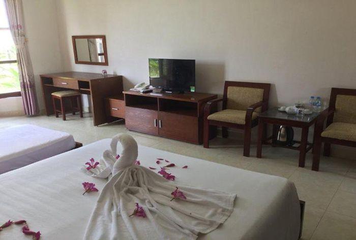 Phòng nghỉ ở resort