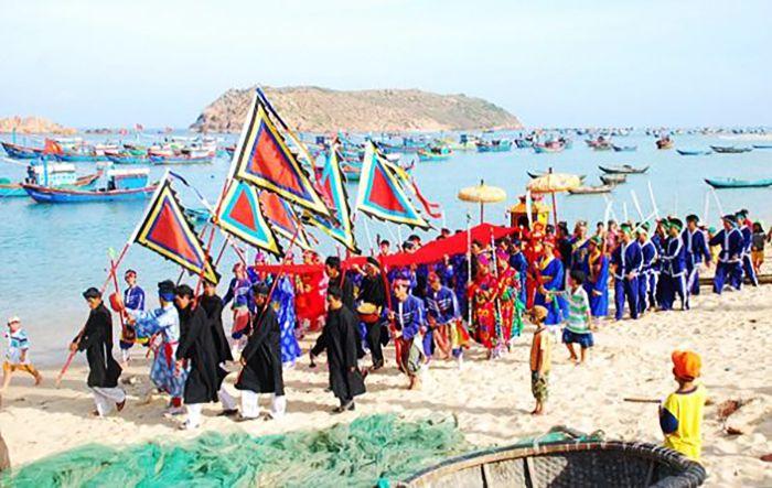 Lễ hội cầu ngư ở La Gi