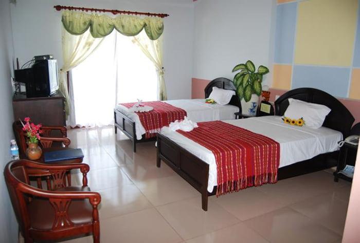 Phòng ngủ của resort