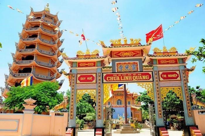 Chùa Linh Quang ở Phú Quý
