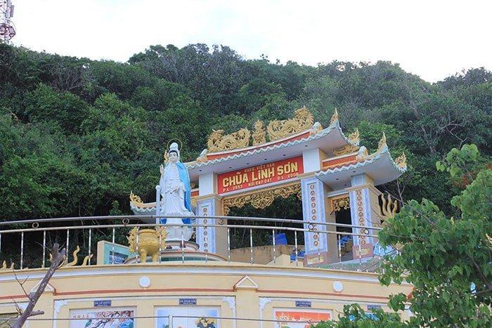 Chùa Linh Sơn hơn 100 tuổi