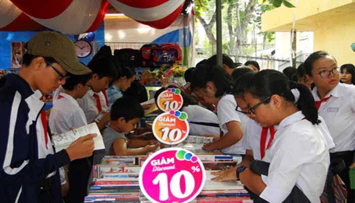 Hội sách Ngày Sách Việt Nam 6 tại Phan Thiết