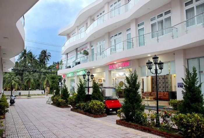 Sảnh chờ của khách sạn 1001